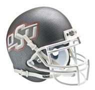 Oklahoma State Cowboys Carbon Fiber Schutt Mini Authentic Helmet