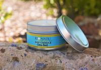 Citrus Basil Soy Tin  Candle