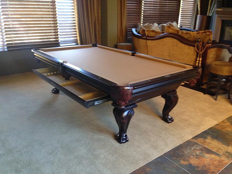 Pool Table Moved By Prestige Billards In Luxury