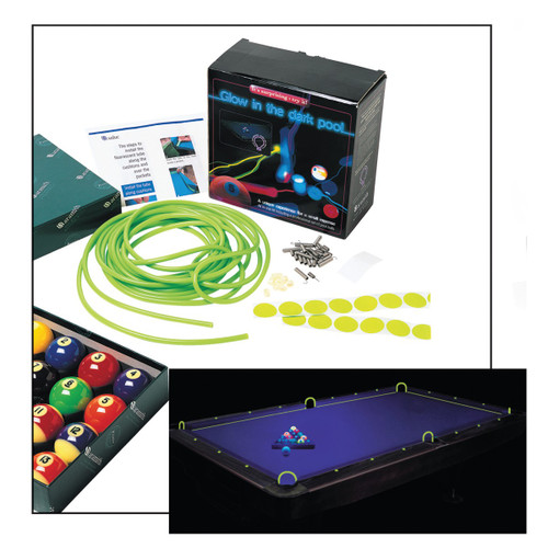 Aramith glow in the dark pool table kit - Glow in the dark table ...