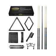 Imperial Gold Billiard Accessory Kit, Black