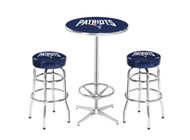 New England Patriots Pub Table Set