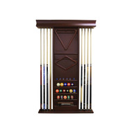 Imperial Deluxe Wall Rack, Mahogany