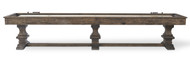 Beaumont Silvered Oak Shuffleboard Table