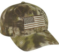Green Kryptek Hat FLAG [Apparel]