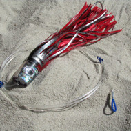 Katana Skirted Trolling Lures (red/black/abalone, Sumo)