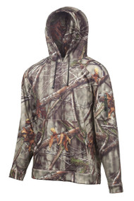 Huntworth Men's Performance Hoodie, Camouflage, Large