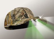 6 LED Headlamp Realtree Hunting Lighted Hat with Blood Tracker