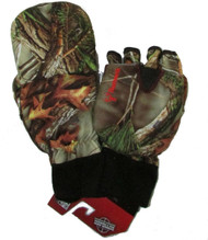 Men's Hunting Oaktree Camo Extreme Cold Pop-Top Glove (Large) [Misc.]
