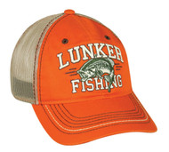 Lunker Bass Fishing Mesh Hat [Misc.]
