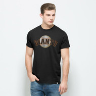 MLB San Francisco Giants Jet Black Flanker Mens Tee [Misc.]