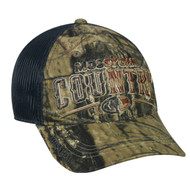 Mossy Oak American Country Camo Patriotic Mesh Back Hunting Hat
