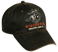 Winchester Dark Brown Weathered Repeating Arms Hat