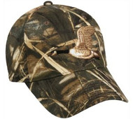Outdoor Cap Embroidered Goose on Camo Cap, 1 Unit, Realtree Max-4