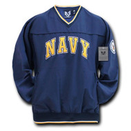 Navy Microfiber Pullover (xlarge)