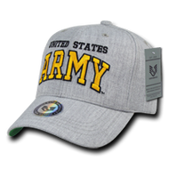 Heather Grey Military Cap - ARMY
