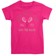 Buck Wear Ladies BCA Hunt For A Cure Tee (Small)