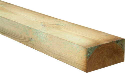 New Softwood Sleeper 1.2m(L) 200x100mm Pressure Treated
