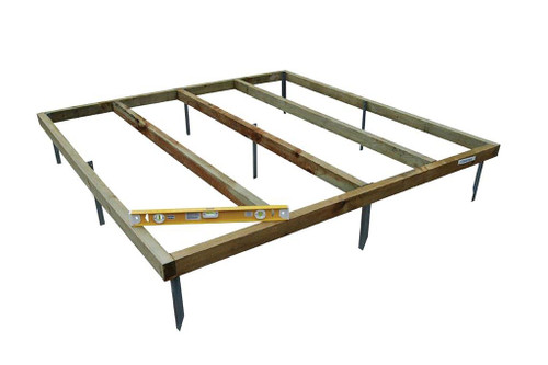 Shed Base 4x3 With Metal Spikes