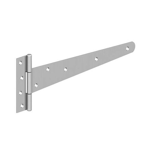 "18"" BZP Medium 'T' Hinges (Pre-Packed With Screws)"