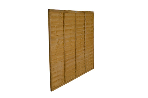 Traditional Lap Fence Panel 1.83m(W) x 1.2m(H) Dip Treated