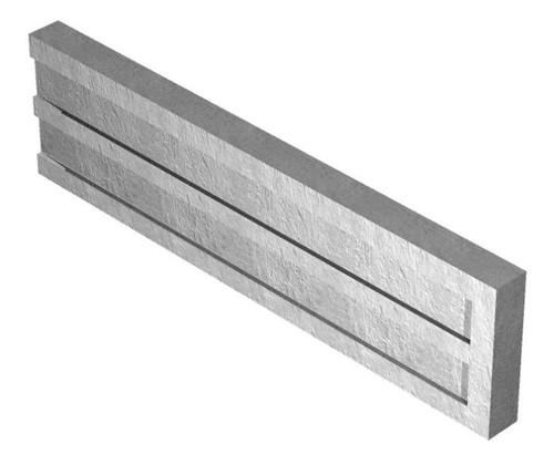 Concrete Gravel Board (Recessed) 1.83m x 300mm x 50mm