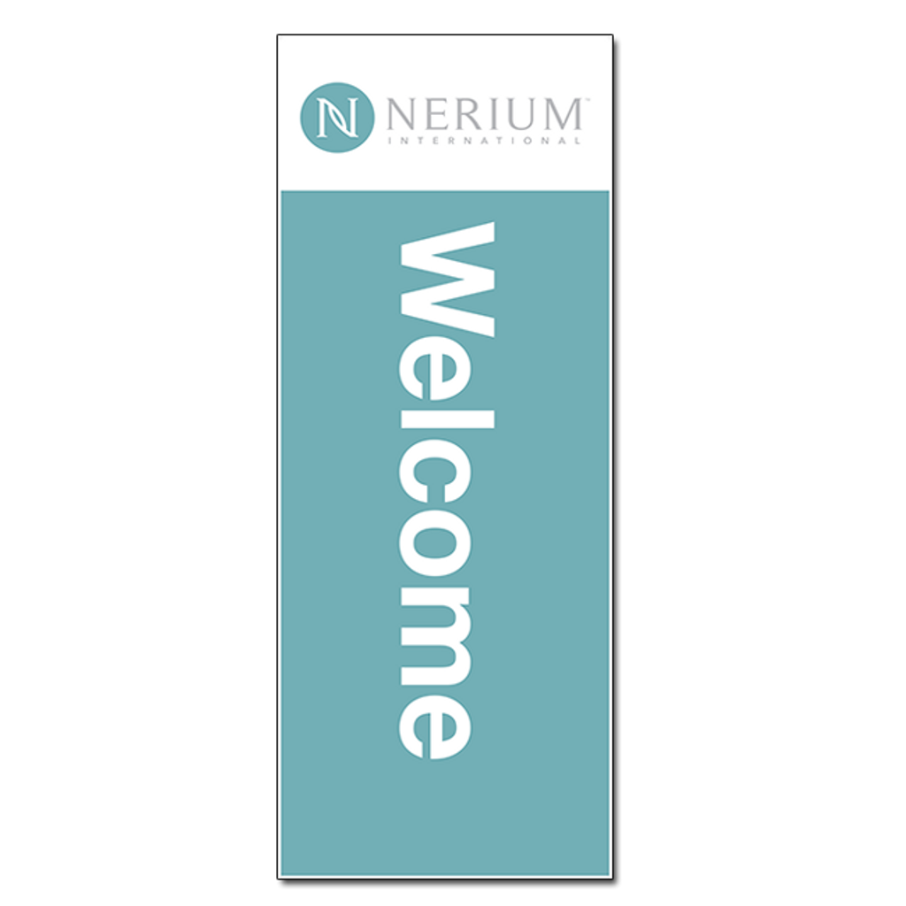 Welcome - Pop-up Banner (31x84)