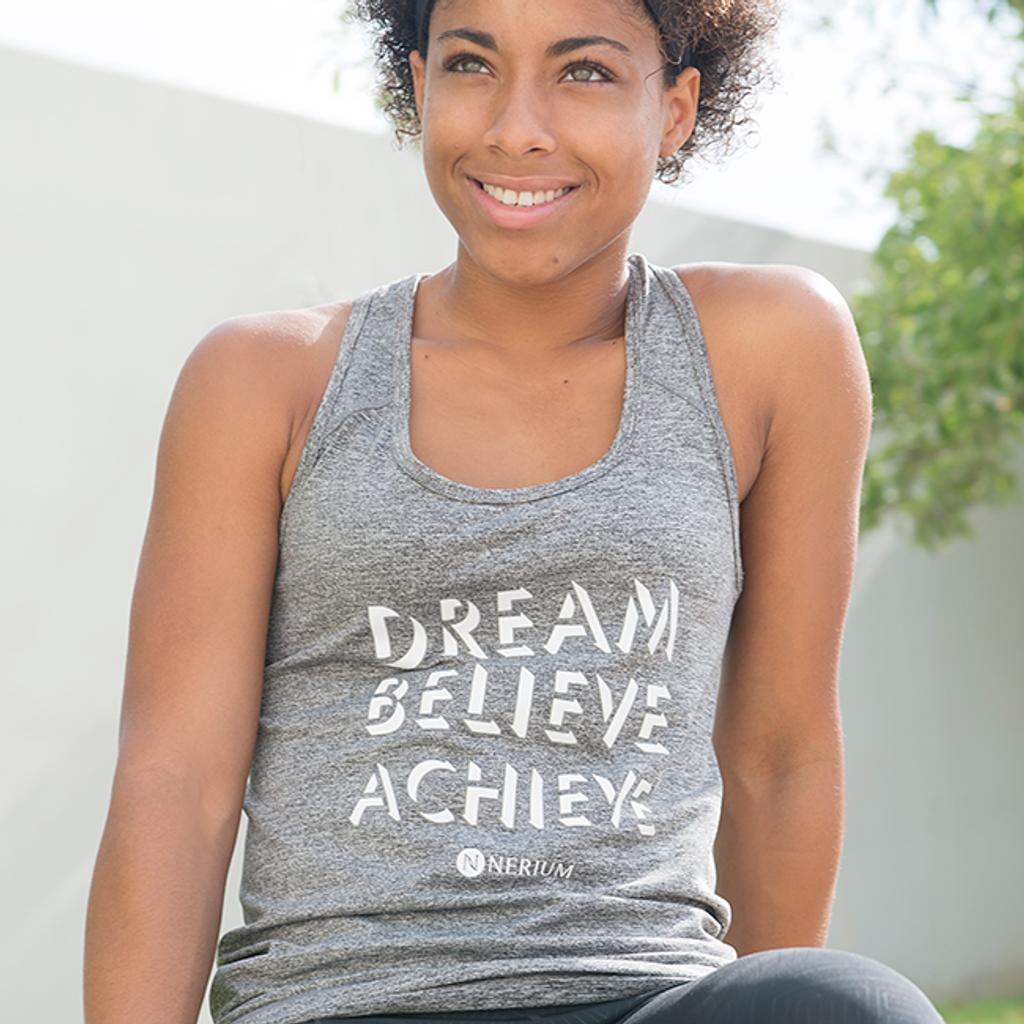 Ladies Dream-Believe-Achieve Tank