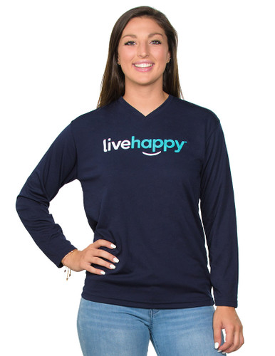 Long sleeve Navy Unisex shirt