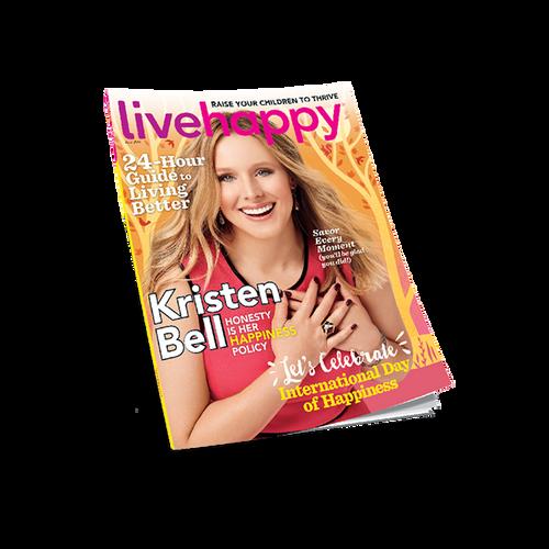 Live Happy Magazine - April 2016