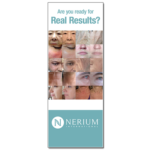 Real Results - Pop-up Banner (31x84)
