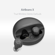 HomeSpot AirBeans X True Wireless Earbuds Stereo Headphones with Charging Case Noise Reduction Echo Cancellation Bluetooth Headphones Sweatproof Earphones