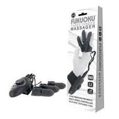 Fukuoku Three Finger Vibrator Massager