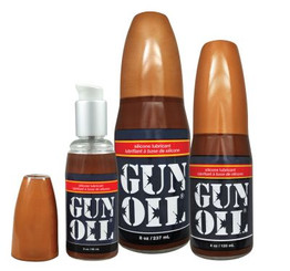 Gun Oil Silicone Lube - 4 oz