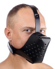 Adjustable Leather Dog Muzzle