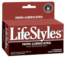Lifestyles Non Lubricated Condoms - 12pk