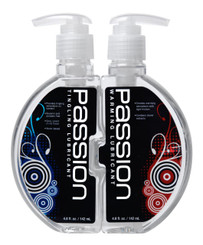 Passion Warming and Tingling Lube Combo - 9.6 oz.