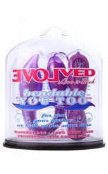 Bendable You Too Purple Couple's Vibrator