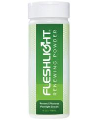 Fleshlight Toy Renewing Powder - 4 oz Bottle