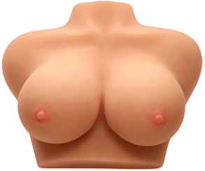 Double D Diana Life Size Breast Boobs - Male Masturbator