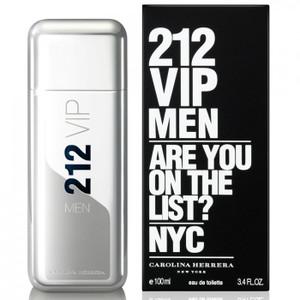 212 VIP Men by Carolina Herrera 3.4 oz Eau de Toilette