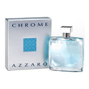 Azzaro Chrome For Men Eau de Toilette 3.4 Oz Spray