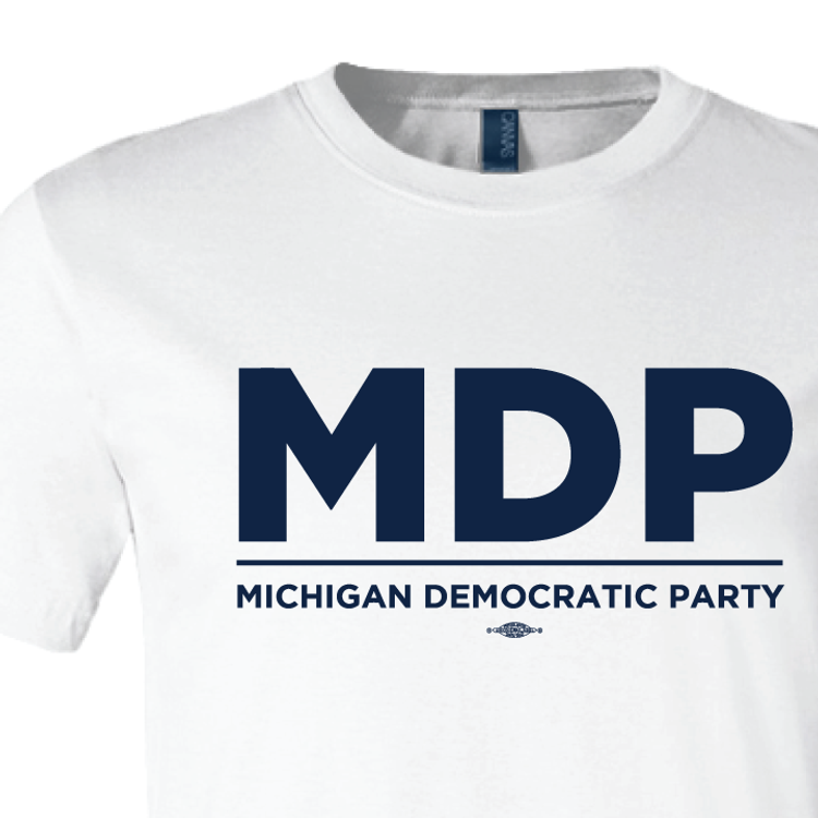 """""""MDP Official Logo"""" graphic (White Tee)"""