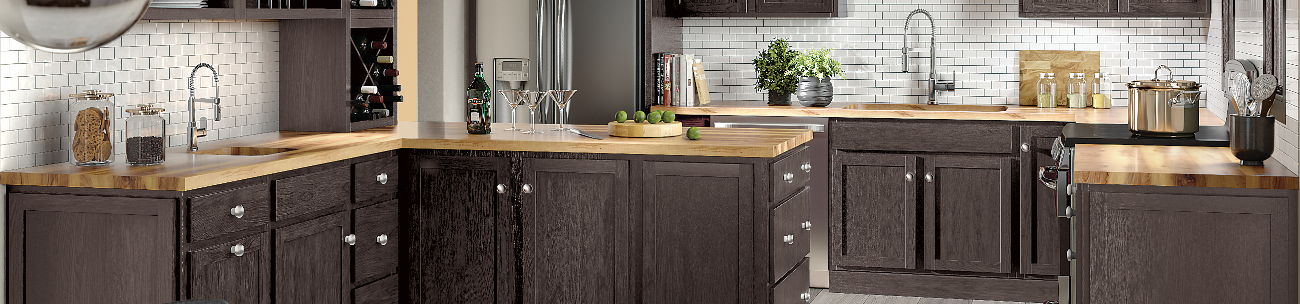 New Kitchen Cabinet Finishes and Styles