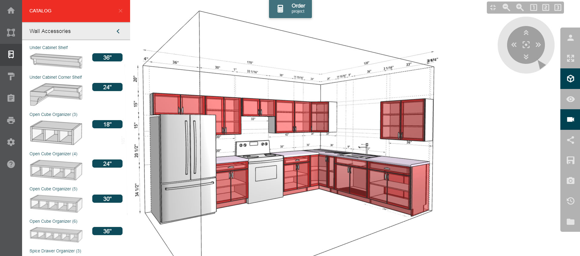 Kitchen Cabinet Layout Design Tool Merillat Kitchen Planner