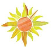 850 Large Sunburst