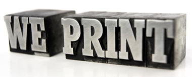 We Print