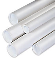 White Travel Kraft Tube