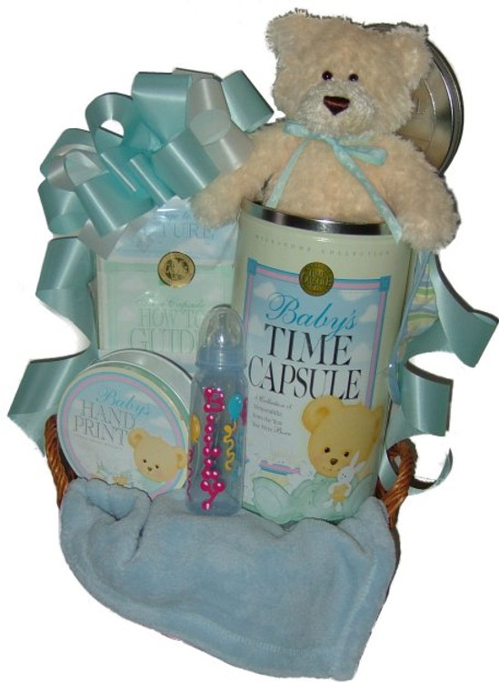 Baby Time Capsule Basket