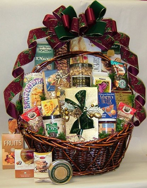 Party Pleaser Holiday Gift Basket
